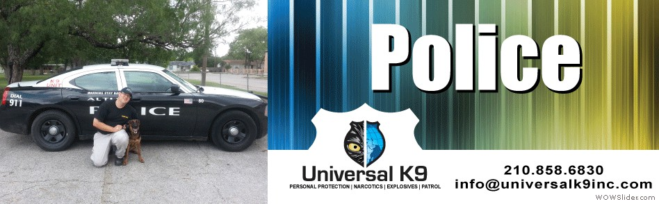 Universal K9 – Helping Save Dogs for Law Enforcement!